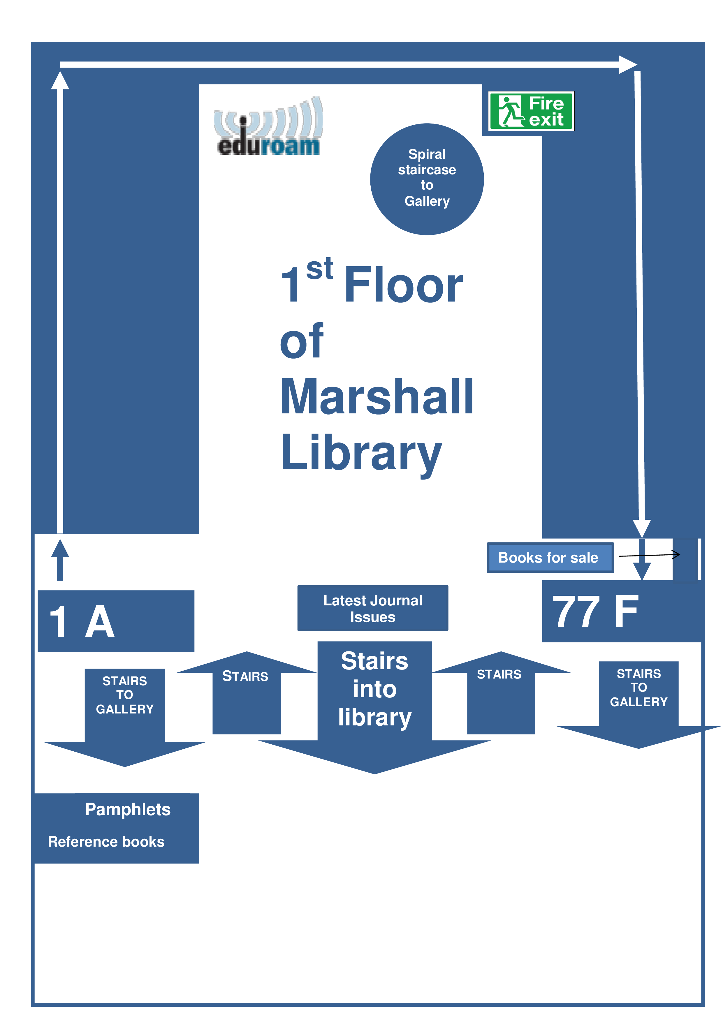 Ground Floor Marshall Library Plan (png)