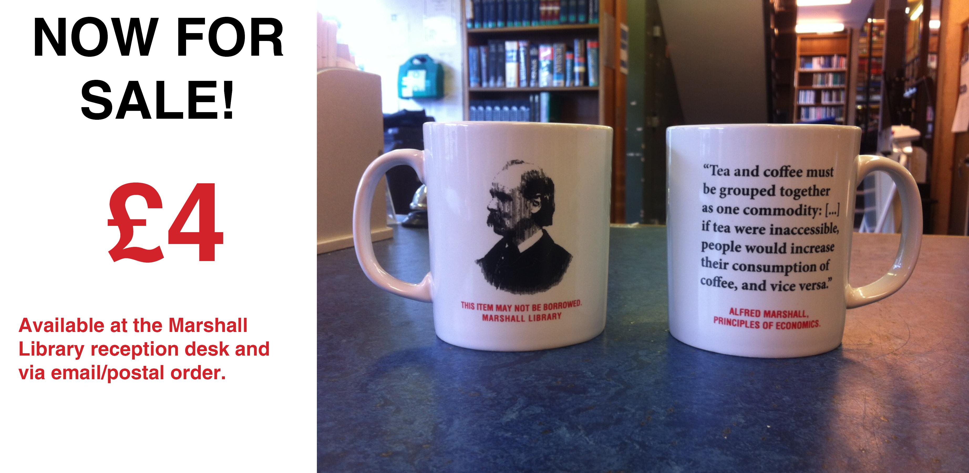 Marshall Library 2014 mug - for sale!