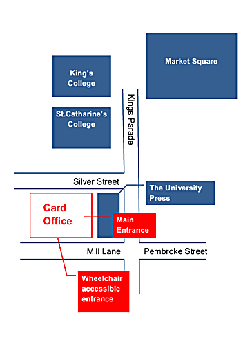 university card office plan