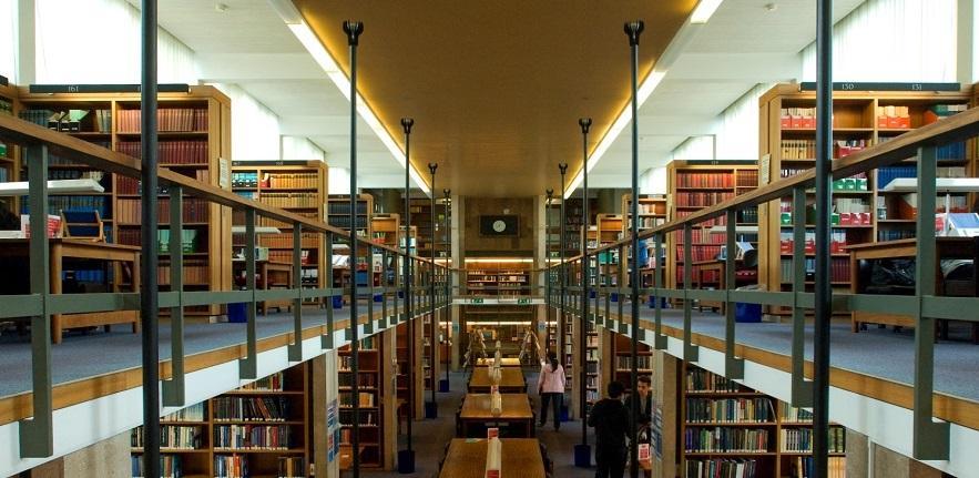 Library panorama carousel
