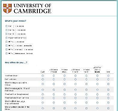 2014 Marshall Library Survey - until 11/03/2014