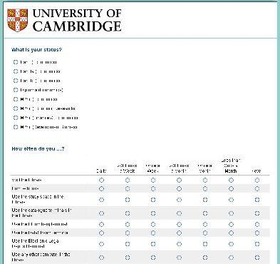 2016 Marshall Library Survey - until 11/03/2016