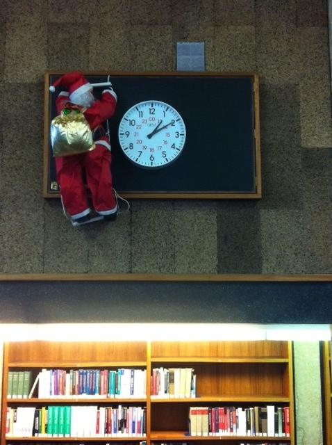 Seasonal closure over Christmas