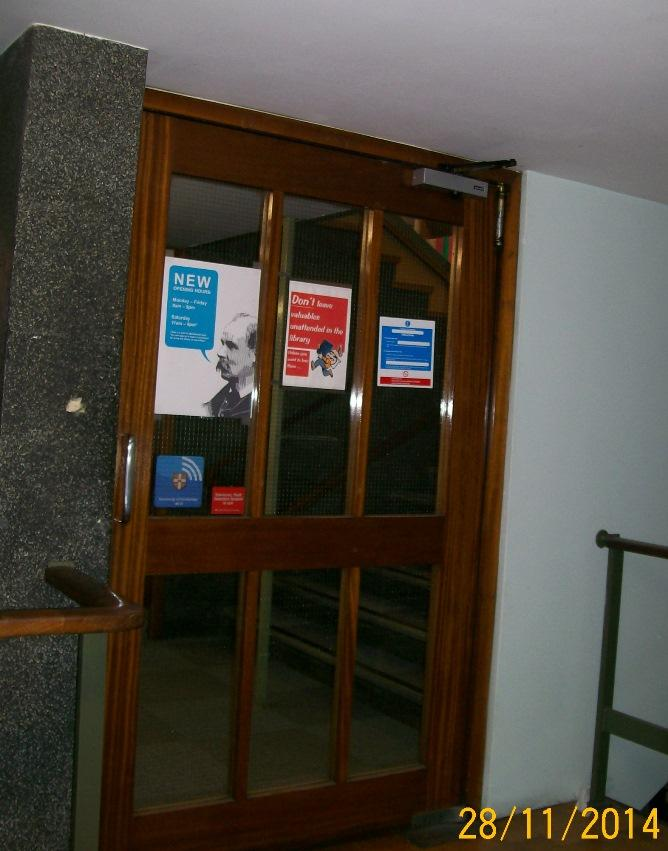 Early warning: Tue 9 December Library closed between 12:00 and 14:00