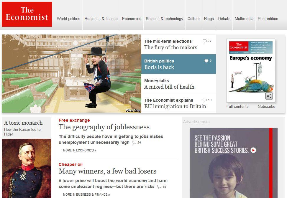 Economist.com subscription - on and off campus