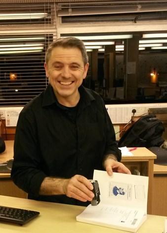 New Library Team Member: Chris Hirst