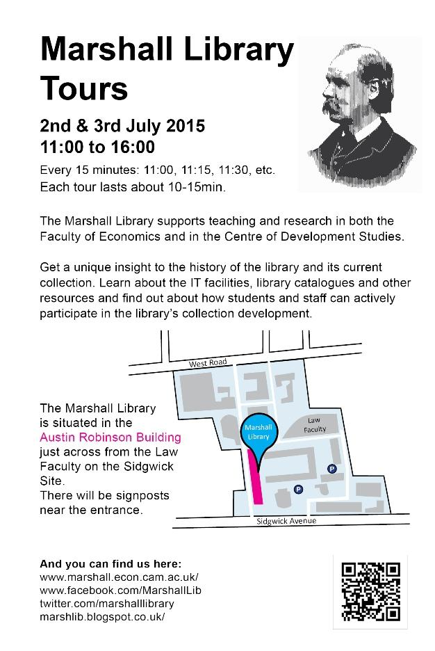 Open Days 2015: Marshall Library Tours