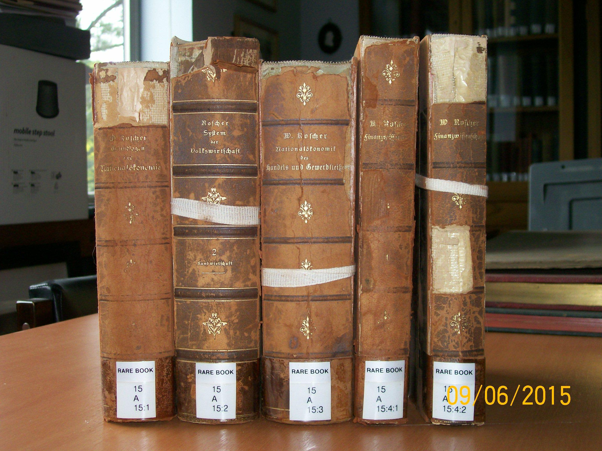 Transfer of Rare Books from Marshall Library to Cambridge University Library's Rare Books Department